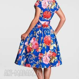 atrakcyjne sukienki sukienka na wesele marie midi caroline
