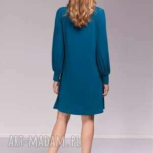 trendy ruda sukienka marion