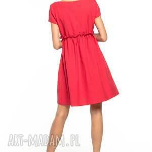 sukienki sukienka urocza z karczkiem, delikatnie