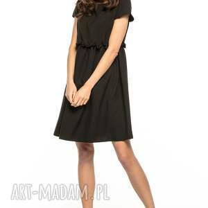 unikatowe sukienki sukienka marszczona pod biustem
