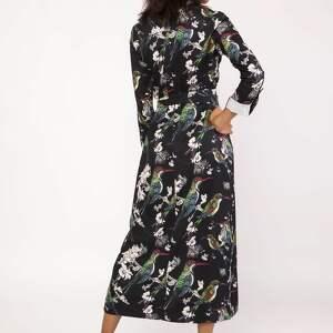 sukienki sukienka maxi, suk159 ptaki