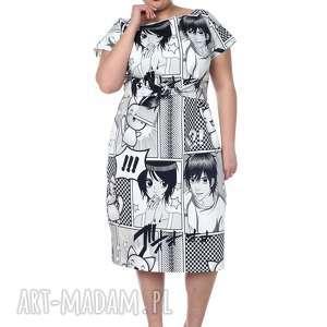 intrygujące sukienki lato sukienka maxi, wyjątkowa, anime