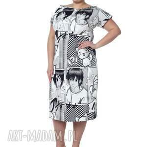 lato sukienka maxi, wyjątkowa, anime