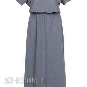 sukienki sukienka maxi z kieszeniami