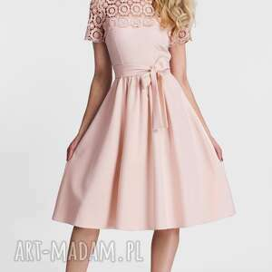 sukienki koronkowa sukienka melia midi koronka