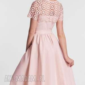 sukienki kokarda sukienka melia midi koronka