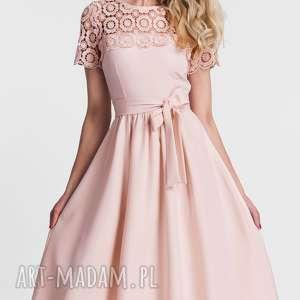 kokarda sukienki sukienka melia midi koronka