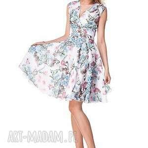 wesele sukienki niebieskie sukienka michela