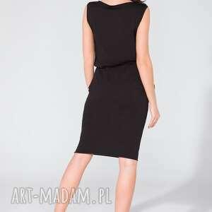 sukienki midi sukienka z kieszeniami t132