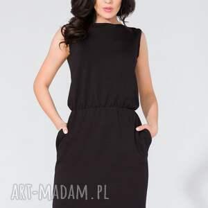 urokliwe sukienka midi z kieszeniami t132