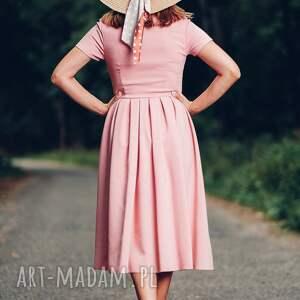 sukienki midi sukienka z kołnierzykiem