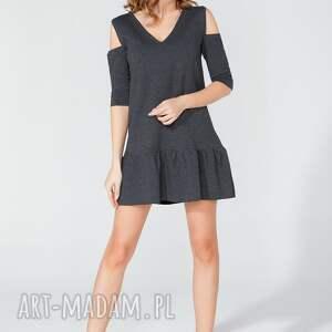 nietuzinkowe sukienki sukienka mini z odkrytymi ramionami