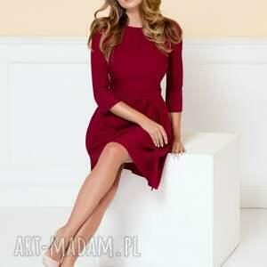 czerwona-sukienka sukienki sukienka monica ii rubinowa