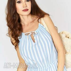 sukienki paski piękna zwiewna sukienka maxi w biało