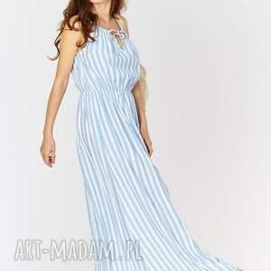 sukienki sukienka na lato typu maxi - paski.