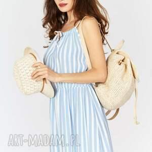 paski sukienki sukienka na lato typu maxi - .