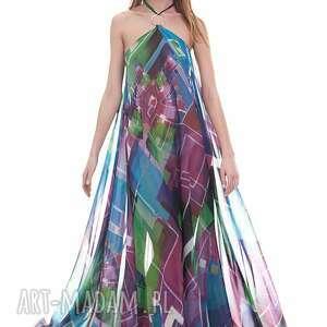 fioletowe sukienki sukienka nabila