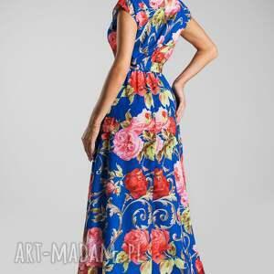 różowe sukienki maxi sukienka nerea caroline
