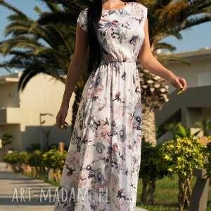 Livia Clue sukienki: sukienka nerea maxi piwonia - kwiaty