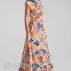 niebieskie sukienki maxi sukienka nerea magdalena