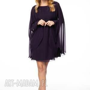 sukienki oryginalna sukienka o luźnym kroju uszyta