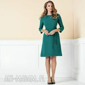 sukienki sukienka-do-pracy sukienka nicole morska zieleń