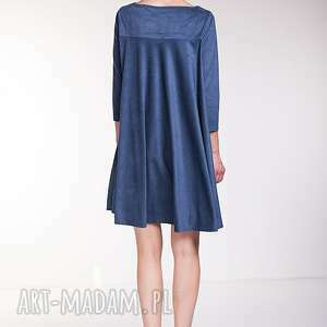 handmade sukienki sukienka noelia - niebieska