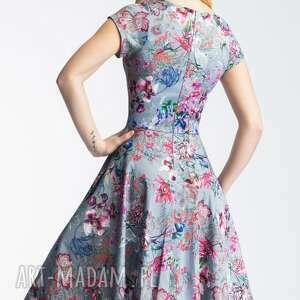 koło sukienki sukienka nora ii midi
