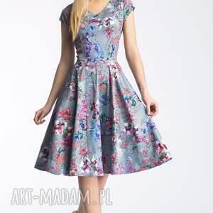 sukienki rozkloszowana sukienka nora ii midi