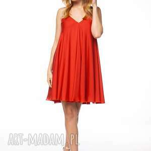 trendy sukienki impreza sukienka uszyta z pięknego, mieniącego się