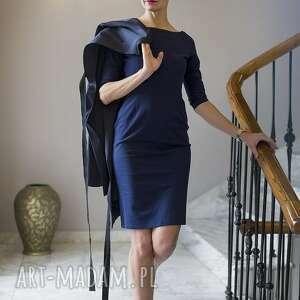 niepowtarzalne sukienki prosta sukienka ołówkowa melagrana ragazza