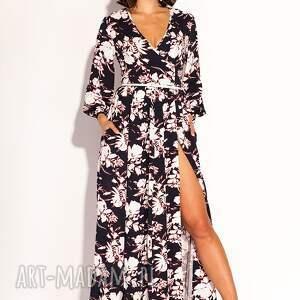 niebanalne sukienki kwiaty sukienka oriana