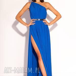 eleganckie sukienki kobaltowa sukienka pandora