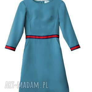sukienka-do-pracy sukienki sukienka patrizia sport z lampasami