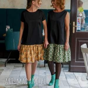 sukienki: - paw jesie&#324
