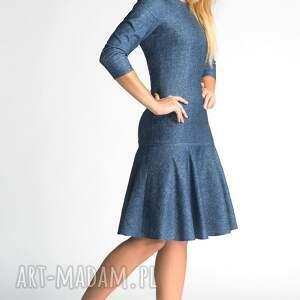 jeans sukienki sukienka princess midi denim