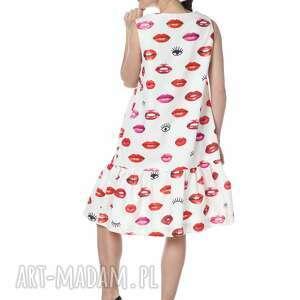 modne sukienki wyjątkowa sukienka princessa 100% bawełna