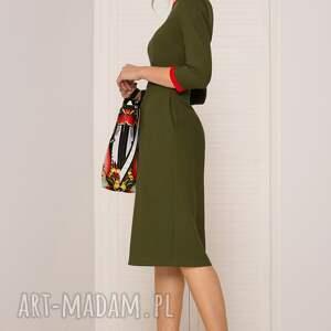 sukienki sukienka retro khaki