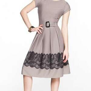 fioletowe sukienki sukienka rita midi gipiura