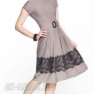sukienki letnia sukienka rita midi gipiura
