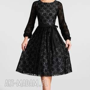 Livia Clue intrygujące sukienki koronka sukienka roma -rozkloszowany dół (marszczenia)