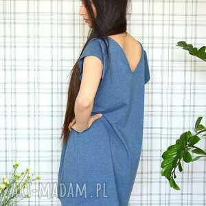 ręcznie robione sukienki dzianina sukienka romantic s/m/l/xl