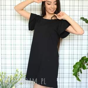 unikalne sukienki delikatna sukienka romantic s/m/l/xl czarna