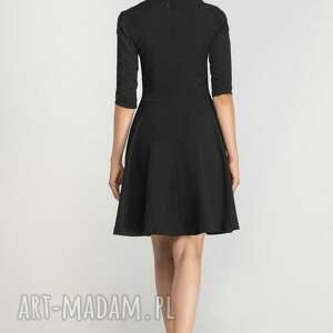 sukienki dekold sukienka rozkloszowana, suk147