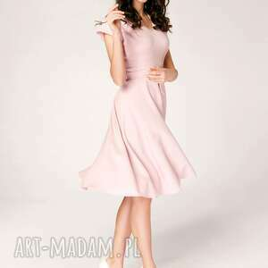 koktajlowa-sukienka sukienki sukienka rozkloszowana felicia