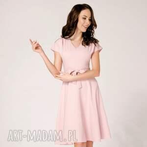 intrygujące sukienki rozkloszowana sukienka felicia