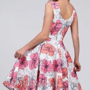 sukienki koło sukienka scarlett midi rozetka