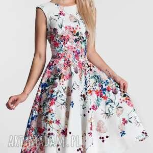 białe sukienki sukienka scarlett midi otylia