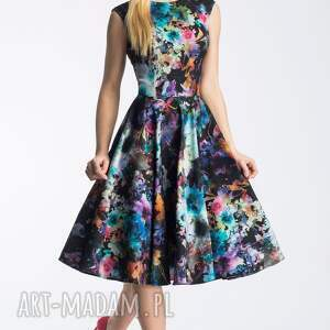 sukienki koło sukienka scarlett midi azalia