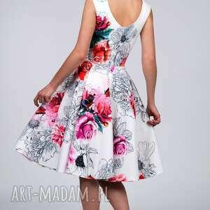 hand made sukienki midi sukienka scarlett delicja